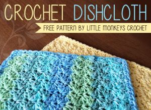 Crochet Dishcloth Image