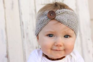 Crochet Ear Warmer for Baby