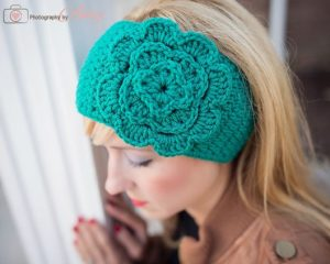 Crochet Headwrap Ear Warmer
