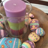Easter Rocks Painting