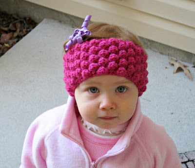 Free Crochet Ear Warmer