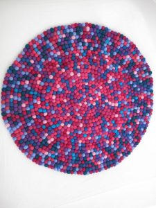 How to Make Felt Ball Rug