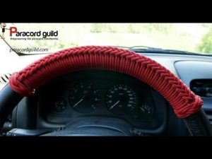 Paracord Steering Wheel Wrap Tutorial