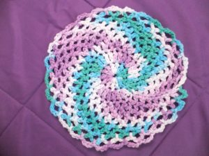 Quick Crochet Dishcloth