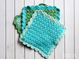 Quick Crochet Dishcloth Pattern