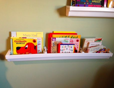 15 Diys To Make Rain Gutter Bookshelves