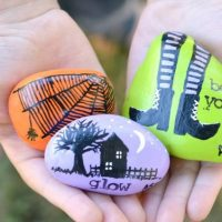 Rock Painting Ideas for Fall