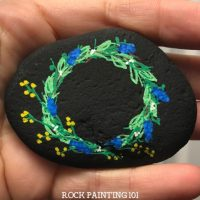 Spring Painted Rock Ideas