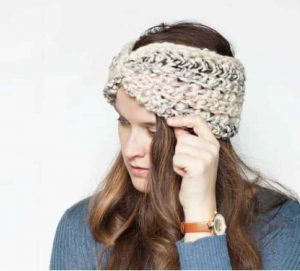Twisted Ear Warmer Crochet