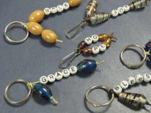 Beaded Keychain Craft