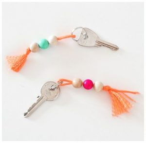Beaded Keychain DIY