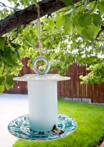 Bird Feeder from PVC Pipes