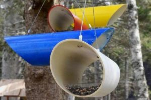 Build PVC Pipe Bird Feeder