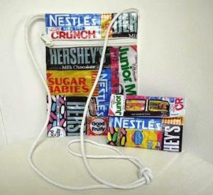 Candy Wrapper Bag Wallet