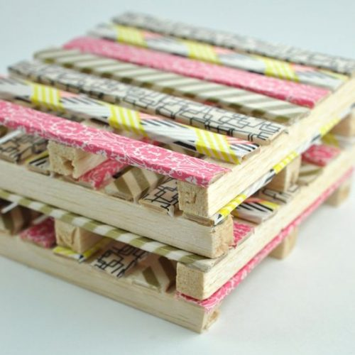 Cool Washi Tape Coasters