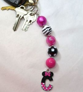 DIY Beaded Keychain