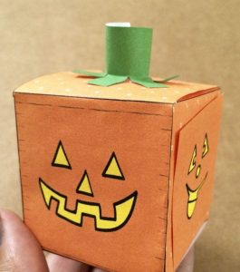 DIY Paper Pumpkin Craft
