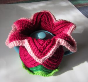 Flower Tea Cozy Pattern