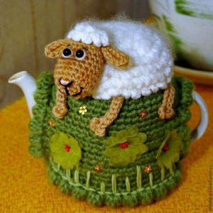 Free Sheep Tea Cosy Pattern