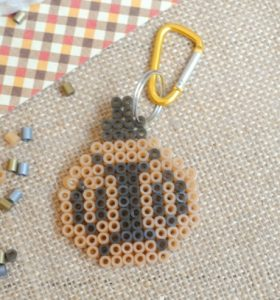 Fuse Beads Keychain