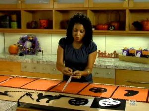 Halloween Table Runner Craft