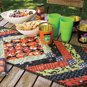 Halloween Table Runner DIY