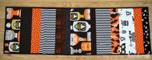 Halloween Table Runner Pattern