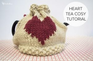Heart Tea Cozy Tutorial