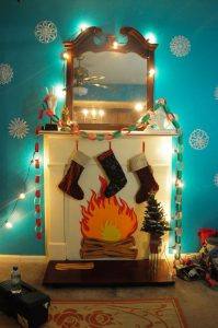 How to Make Cardboard Fireplace