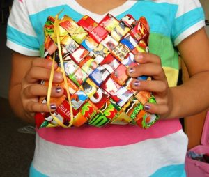 How to make Candy Wrapper Bag