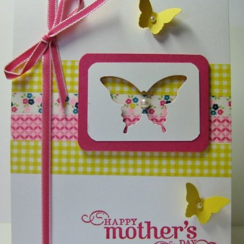 Mother's Day Washi Tape Cards
