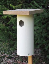 PVC Bird Feeder House