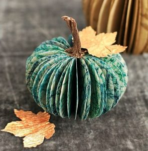 Paper Pumpkin Idea