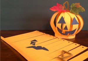 Paper Pumpkin Lantern Craft