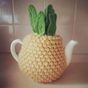 Pineapple Tea Cozy Pattern