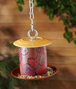 Small PVC Bird Feeder