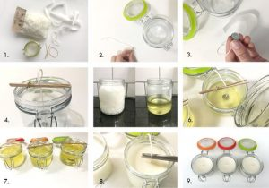Soy Wax Candle Instructions