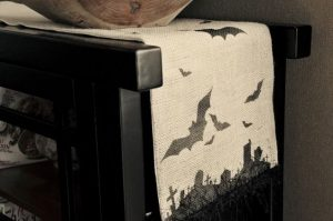 Spooky Halloween Table Runner