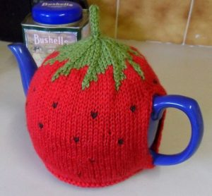 Strawberry Tea Cozy