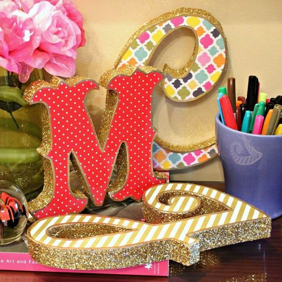 Styrofoam Letters Craft