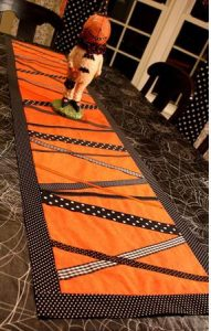 Table Runner for Halloween