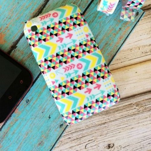 Washi Tape Cell Phone Case