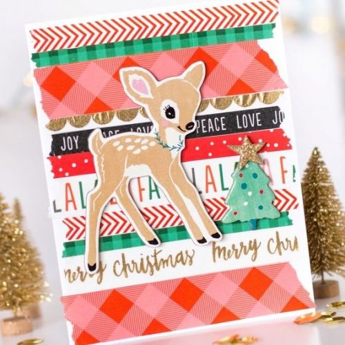 Washi Tape Christmas Cards