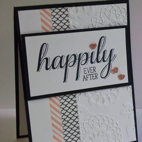 Washi Tape Wedding Card Ideas