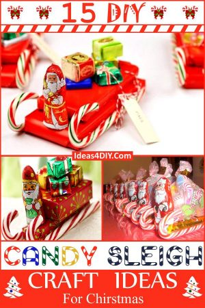 Candy Sleigh Craft Ideas