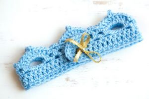 Crochet Crown Headband Pattern