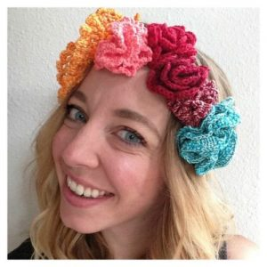 Crochet Floral Crown