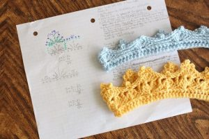 Crochet Newborn Crown Patterns