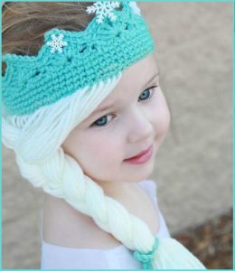 Elsa Crochet Crown Pattern