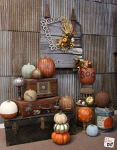 Faux Foam Pumpkins
